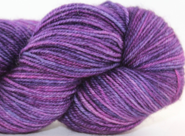 Madelinetosh BFL Sock, Flashdance (Discontinued)