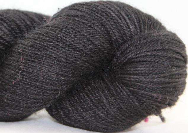 Madelinetosh BFL Sock, Onyx (Discontinued)