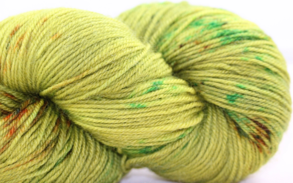 Madelinetosh BFL Sock, Silence Was Golden (Discontinued) (Retired)