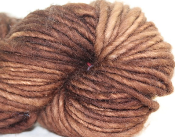 Madelinetosh ASAP, Log Cabin Brown (Discontinued)