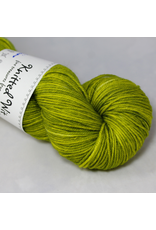 Knitted Wit Targhee Shimmer Worsted, Golden Delicious (Discontinued)