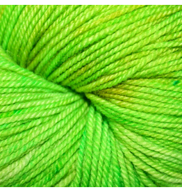 Dragonfly Fibers Djinni Sock, Golden Pear *CLEARANCE*
