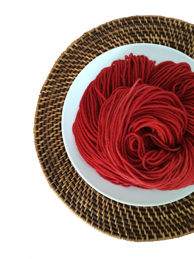 Delicious Yarns Frosting Fingering, Cherry *CLEARANCE*