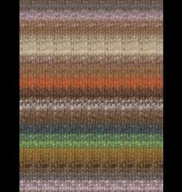 Noro Silk Garden Sock, Rust, Brown, Natural Color 417 (Discontinued)