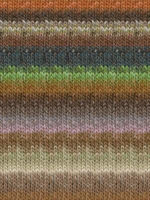 Noro Silk Garden, Greens, Coral, Ink Color 426 (Discontinued)