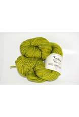 Knitted Wit Targhee Shimmer Worsted, Shandanowhitz (Discontinued)