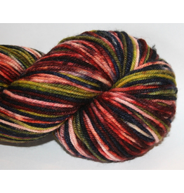 Knitted Wit Targhee Shimmer Worsted, Dirty Santa (Discontinued)