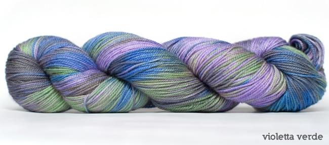 Dream in Color Smooshy with Cashmere, Violette Verde (Retired)