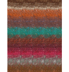 Noro Silk Garden Sock, Persian Orange Color 418 (Discontinued)