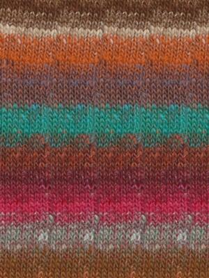 Noro Silk Garden Sock, Persian Orange Color 418 (Discontinued)