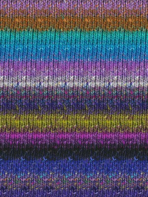 Noro Silk Garden Sock, Purples, Green Grey color 411 (Discontinued)