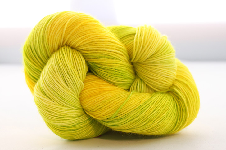 Dream in Color Smooshy with Cashmere, Slammin Lemon (Retired)