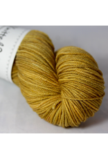 Knitted Wit Targhee Shimmer Worsted, Salted Caramel (Discontinued)