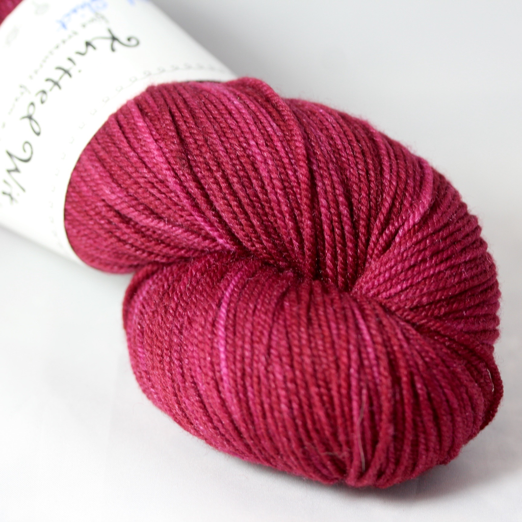 Knitted Wit Targhee Shimmer Worsted, Ex's Flannel Shirt (Discontinued)