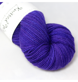 Knitted Wit Targhee Shimmer Worsted, Her Majesty (Discontinued)