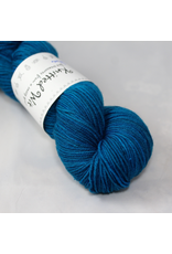 Knitted Wit Targhee Shimmer Worsted, Royal (Discontinued)