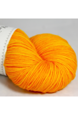 Knitted Wit Targhee Shimmer Worsted, Sunshine (Discontinued)