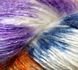 Art Yarns Glitter Rhapsody, color 172 Silver thread