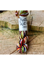 Knitted Wit Smarties, Warrior (formerly Chocolate Frog)