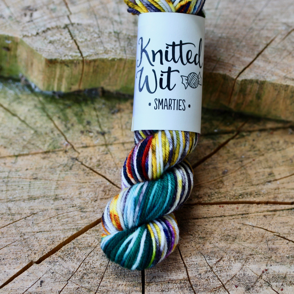 Knitted Wit Smarties, Rocky Mountain National Park