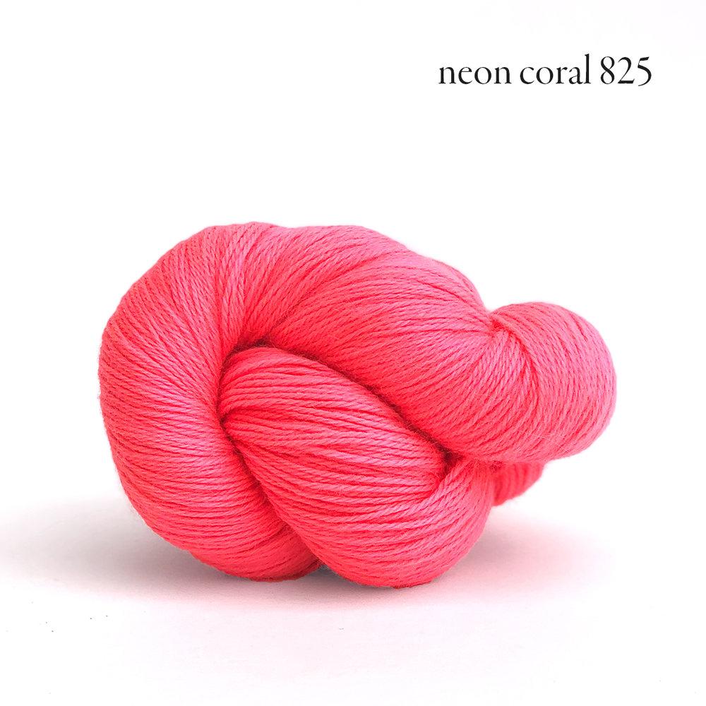 Kelbourne Woolens Perennial, Neon Coral 825