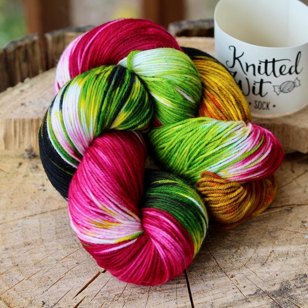 Knitted Wit Sock, Winner Winner! (formerly Rita Newspaper)