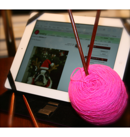 For Yarn's Sake, LLC High Tech Crafting: Tablets & Knitting.  Sunday October 13, 1-3pm.  Debbi Stone