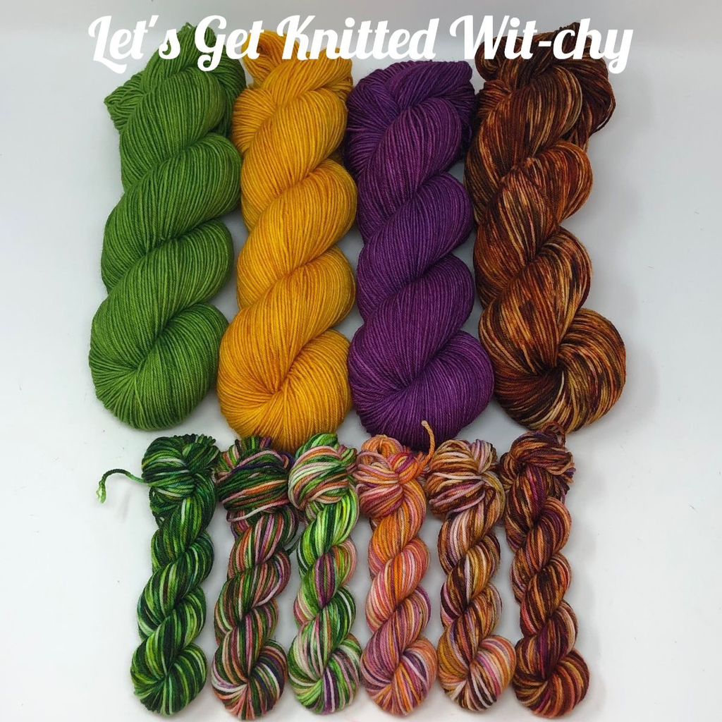 Knitted Wit Wit-chy Kit, Wild Orchid