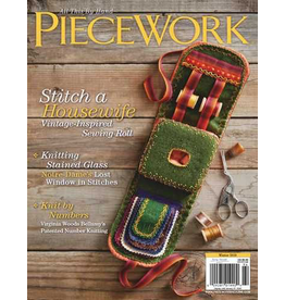 Interweave Piecework, Winter 2019