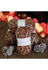West Yorkshire Spinners Signature 4ply, Christmas Robin 0941