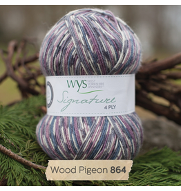 West Yorkshire Spinners Signature 4ply, Wood Pigeon 864