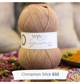 West Yorkshire Spinners Signature 4ply, Cinnamon Stick 632