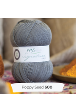 West Yorkshire Spinners Signature 4ply, Poppy Seed 600