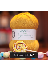 West Yorkshire Spinners Signature 4ply, Butterscotch 240