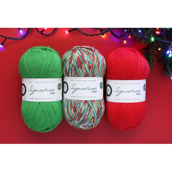 West Yorkshire Spinners Signature 4ply, Fairy Lights