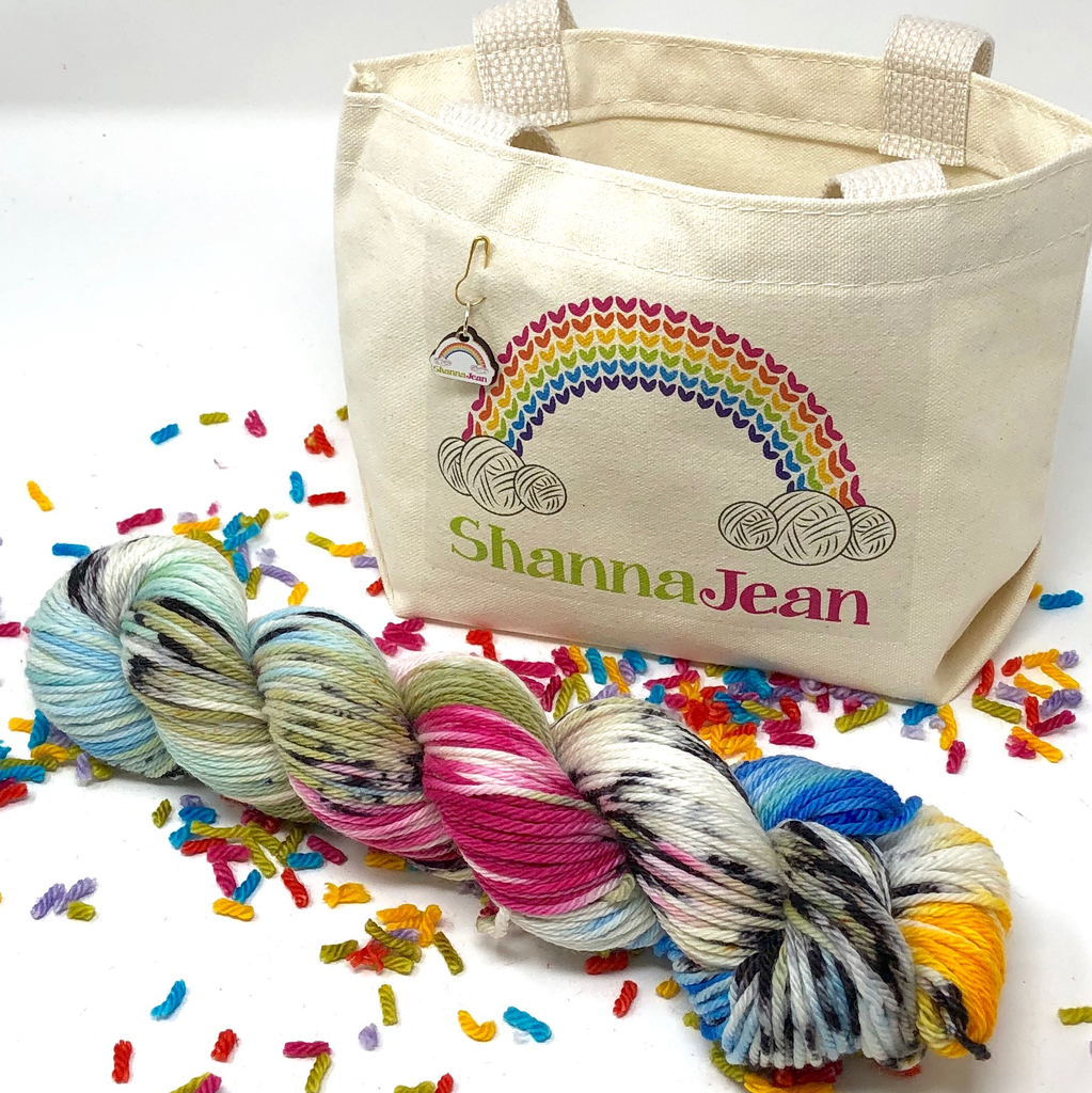 Knitted Wit The ShannaJean Club, Intro Kit + Yarn