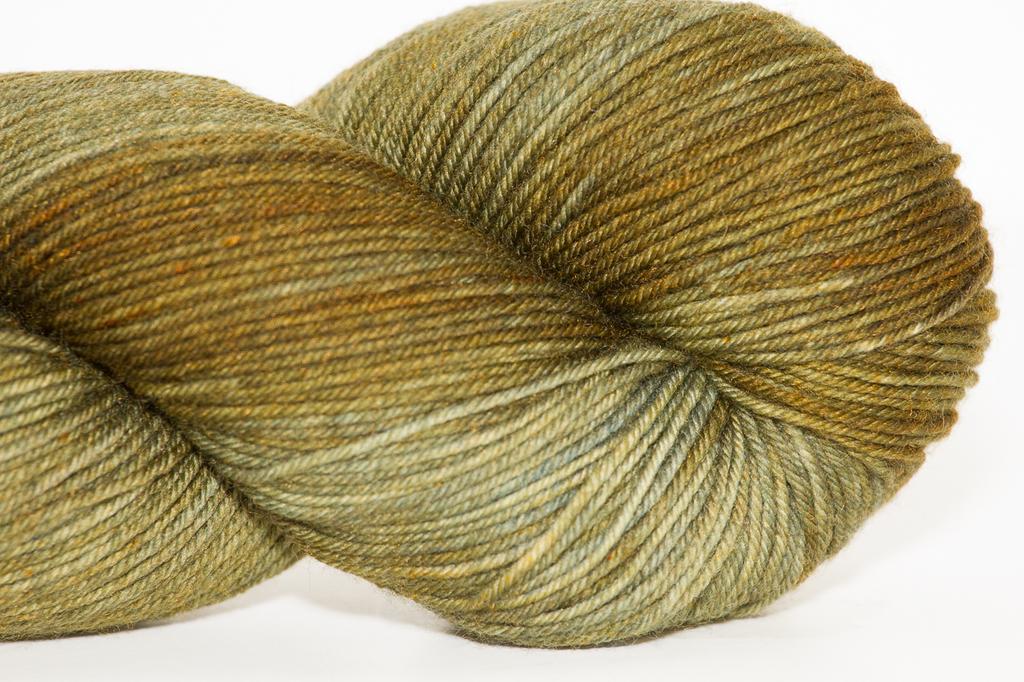 Knitted Wit Single Fingering, Cedar