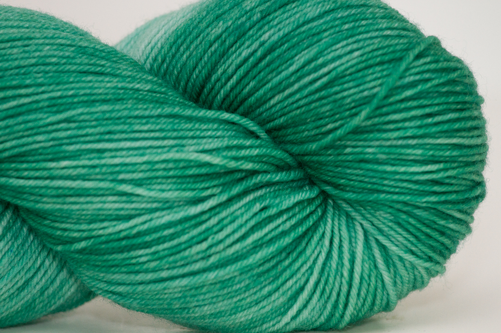 Knitted Wit Sock, Jade