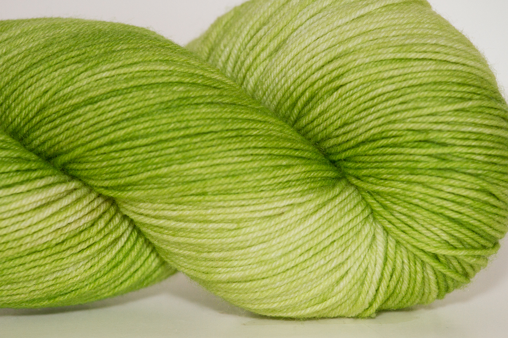 Knitted Wit Sock, Spring Green