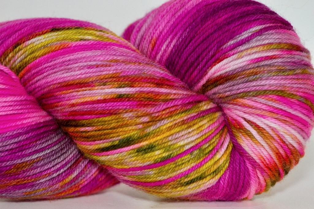 Knitted Wit Sock, Storyteller