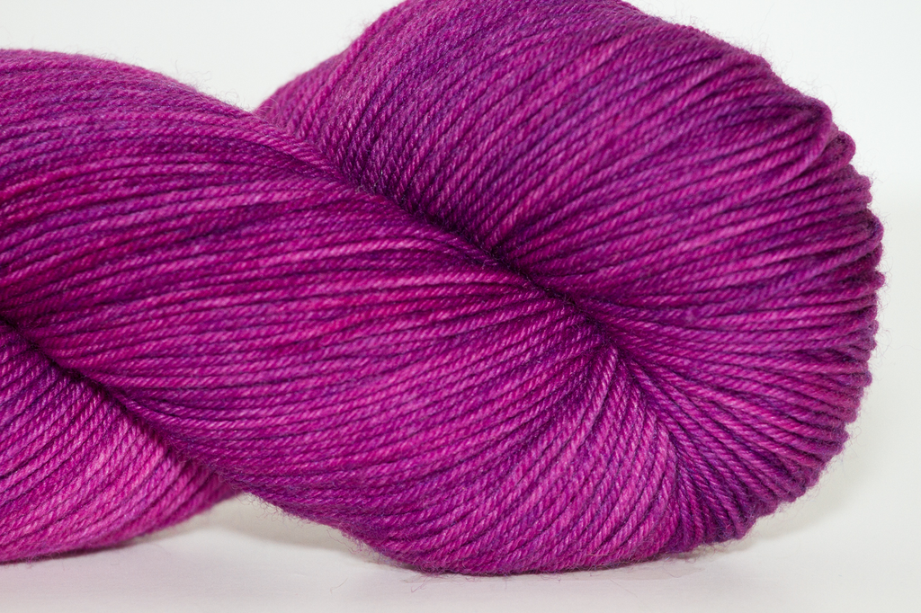 Knitted Wit Sock, Wild Orchid