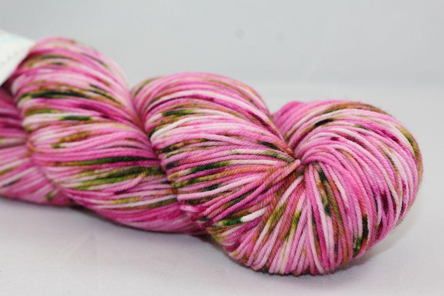 Knitted Wit Single Fingering, Apple Blossom