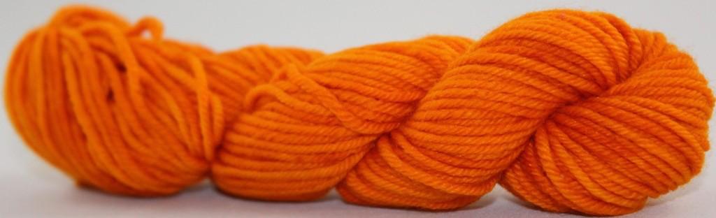 Knitted Wit Single Fingering, Glazed Over Carrots