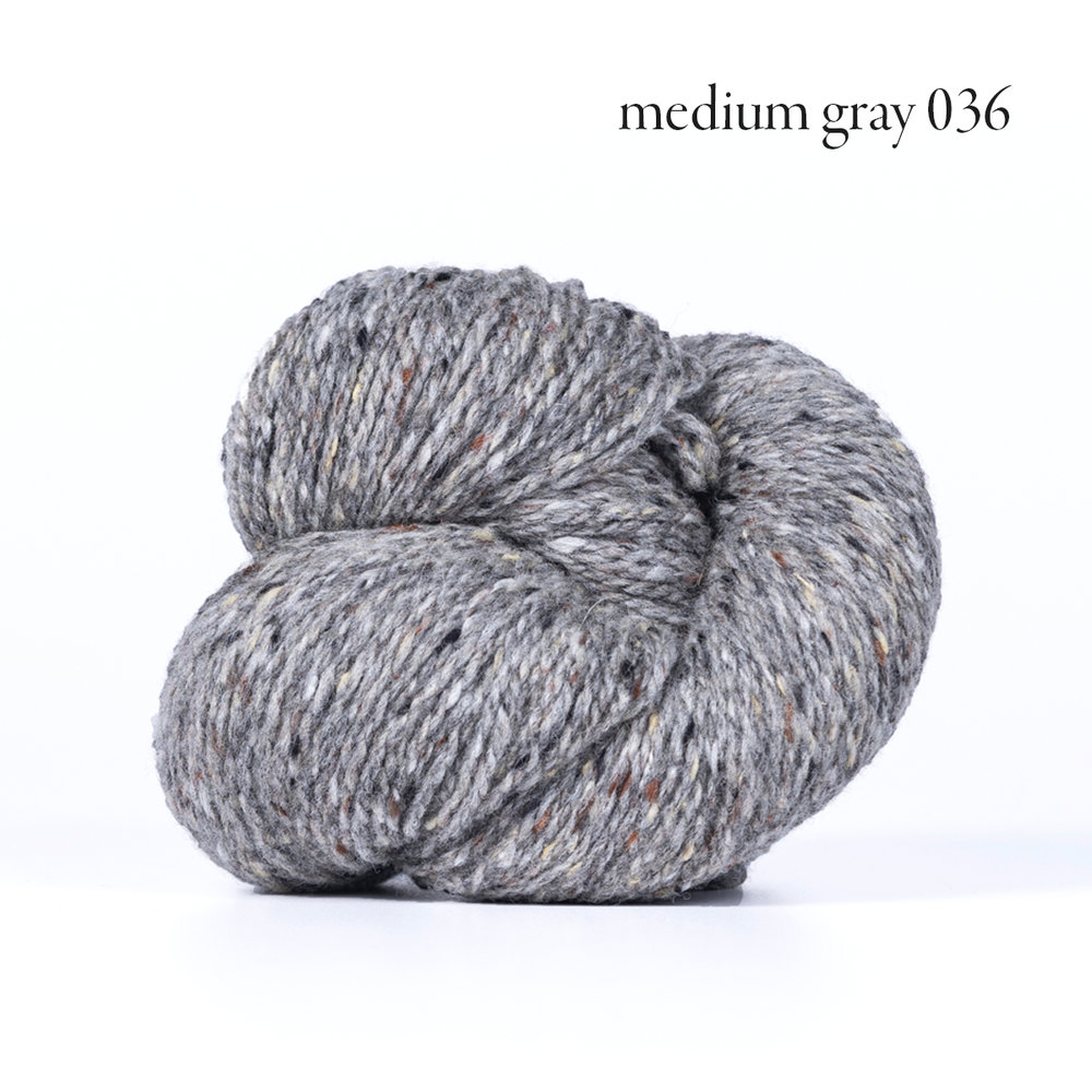 Kelbourne Woolens Lucky Tweed, Fog #454