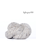 Kelbourne Woolens Lucky Tweed, Light Gray #058