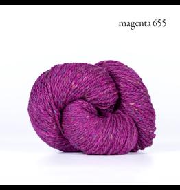 Kelbourne Woolens Lucky Tweed, Magenta #655