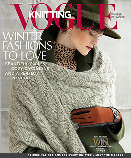Soho Publishing Vogue Knitting, Winter 2019 / 2020