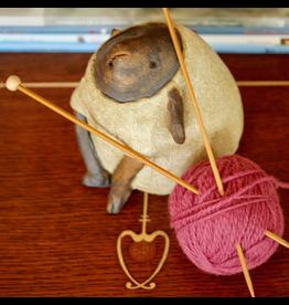 For Yarn's Sake, LLC Knitting Workshop Coterie - Saturday Feb 15, 2020. Class time: 10am-12pm. Y'vonne Cutright