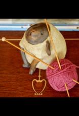 For Yarn's Sake, LLC Knitting Workshop Coterie - Saturday Feb 22, 2020. Class time: 10am-12pm. Y'vonne Cutright