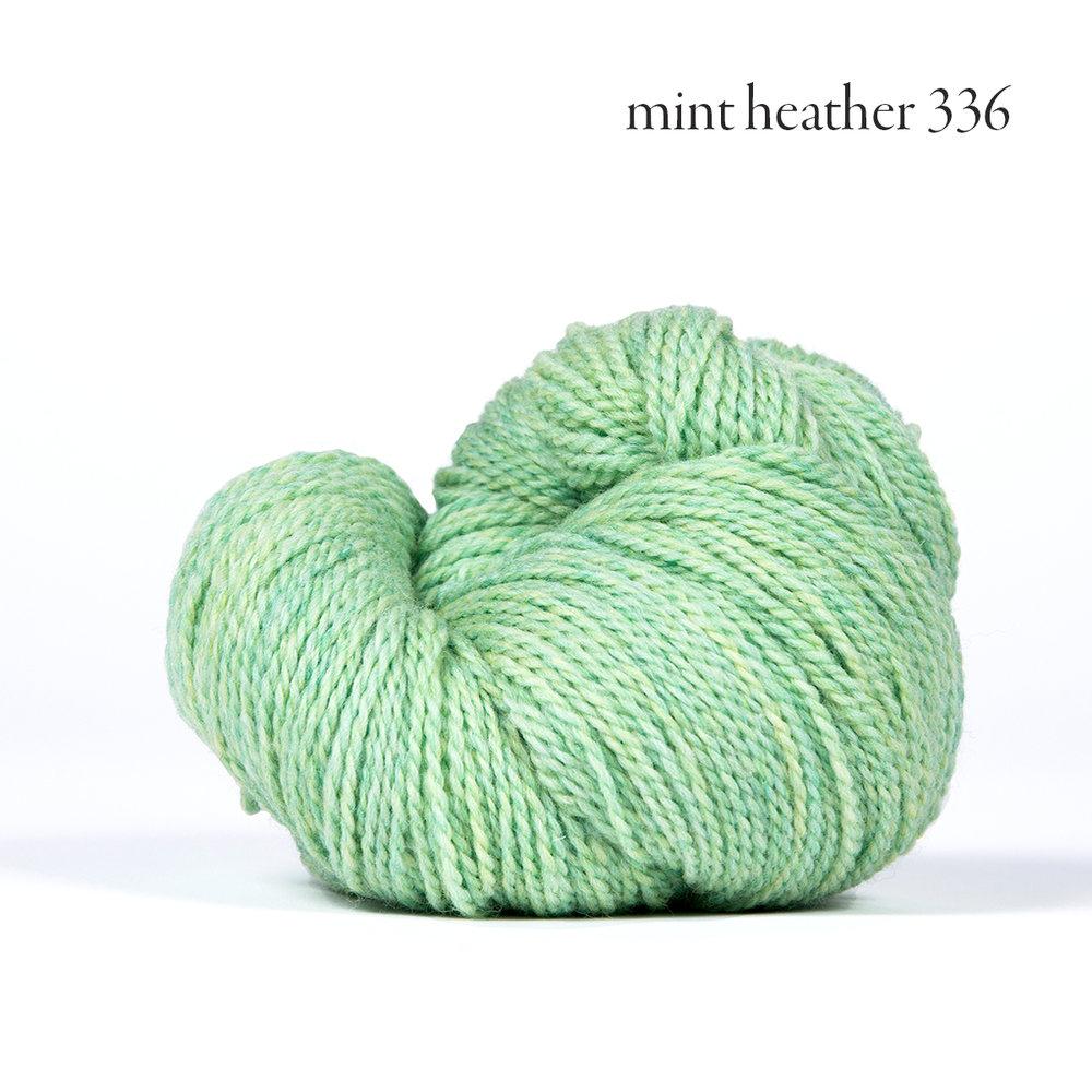 Kelbourne Woolens Scout, Mint Heather #336
